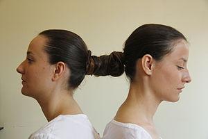 """Genco Gulan - """"Twin Project"""", 2011. Performance by twin sisters; Yeliz and Deniz Çelebi."""