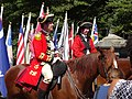 Two Redcoat generals on Battle Hill G-W jeh.jpg