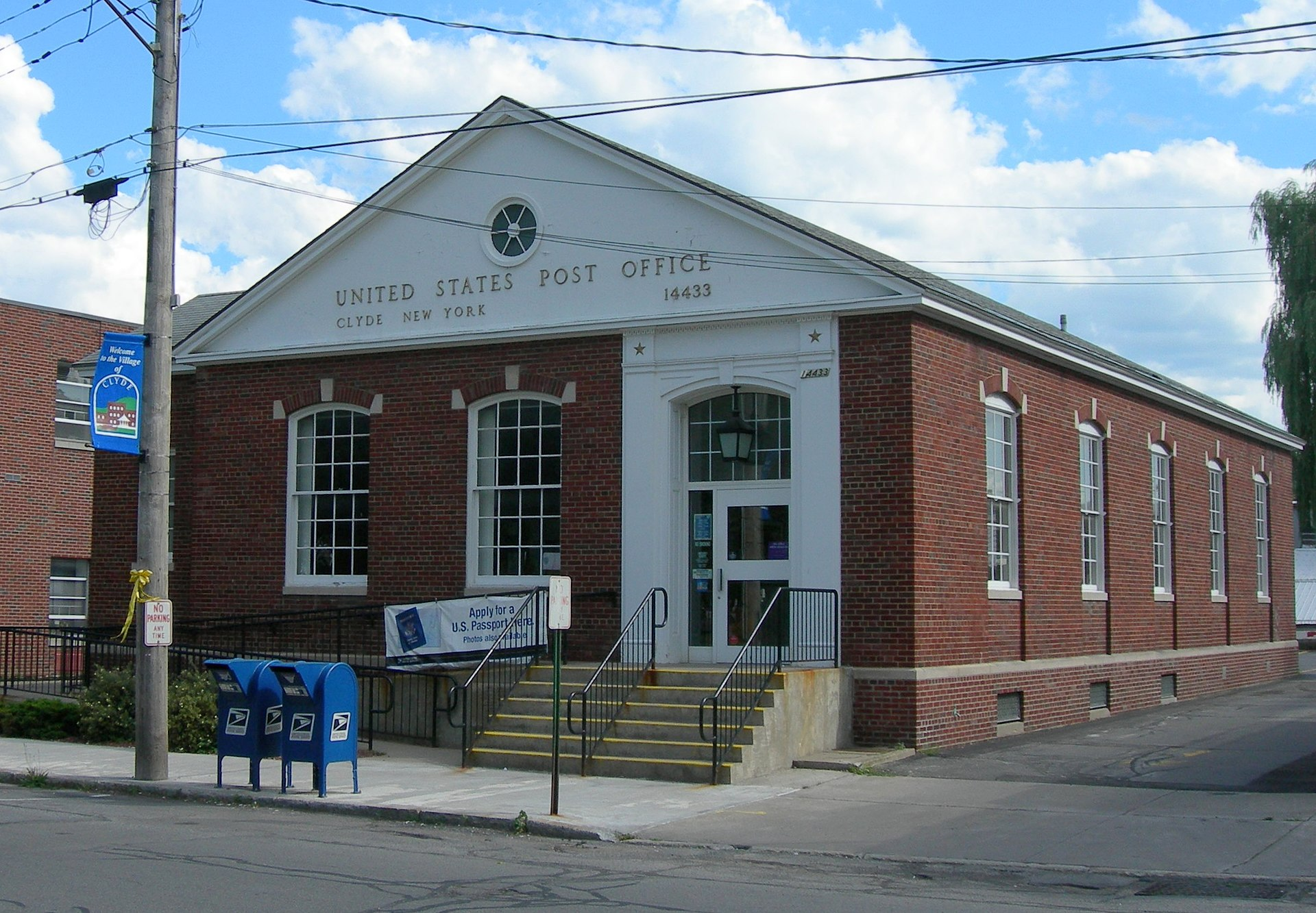 United states post office clyde new york wikipedia - United states post office ...