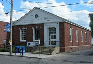 Clyde, New York - The Clyde Post Office