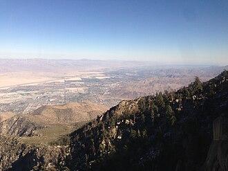 San Jacinto Peak - Image: USA CA Palm Springs Aerial Tram 001 2013