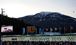 USA III in heat 1 of 2 man bobsleigh at 2010 Winter Olympics 2010-02-20.jpg