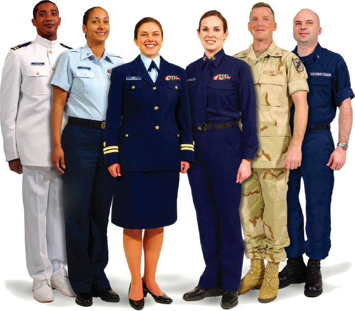 USCG Uniforms