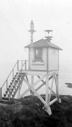 Point Blunt Light - Point Blunt Light by U.S. Coast Guard Archive