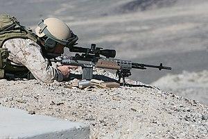 M39 Enhanced Marksman Rifle - Image: USMC 090417 M 4595B 185