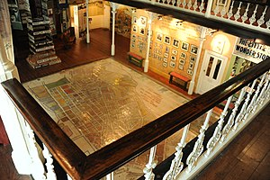 District Six Museum - View on the floor of the museum