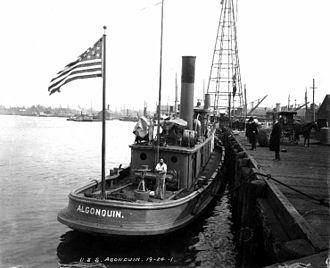 Hispanics in the United States Coast Guard - USRC Algonquin