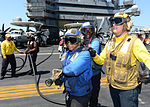 USS George H. W. Bush naval airmen June 2014.jpg