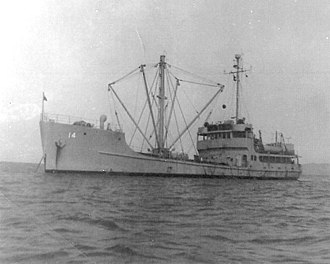 USS Hewell (AG-145) - Image: USS Hewell AG 145 AKL 14