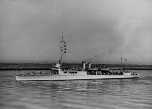 USS Manley (DD-74) - Manley after conversion to a high speed transport, 23 September 1940.