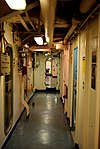 USS Missouri - Passageway (6180652664).jpg