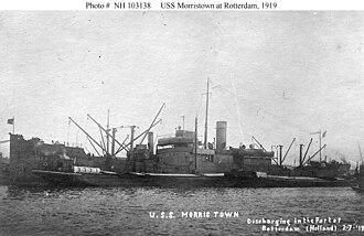 USS Morristown (ID-3580) - USS Morristown