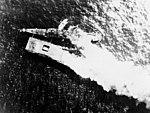 USS Santa Fe (CL-60) assists burning USS Franklin (CV-13) in March 1945.jpg