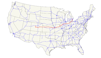 U.S. Route 24 - Image: US 24 map