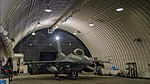 US Female F-16 Fighter Pilot Capt Brittany Trimble waits to taxi out her hardened aircraft shelter during VIGILANT ACE 18 at Osan Air Base, Korea-4014099.jpg