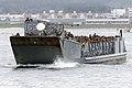 US Navy 020905-N-8590G-003 Landing Craft Utility (LCU) 1631 carries U.S. Marines to the Wasp-class amphibious assault ship USS Essex.jpg