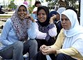 US Navy 050114-N-6817C-302 The people of Banda Aceh, Sumatra, express hope after the devastating tsunami destroyed many of their homes.jpg