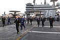 US Navy 070322-N-3659B-257 Distinguished visitors from the Republic of Korea armed forces and political parties take a tour on the flight deck of Nimitz-class aircraft carrier USS Ronald Reagan (CVN 76).jpg