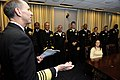 US Navy 100112-N-0555B-751 Vice Chief of Naval Operations (VCNO) Adm. Jonathan W. Greenert addresses the 2009 Navy Recruiters of the Year at the Pentagon.jpg