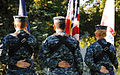 US Navy 101002-N-5647H-172 USS Constitution Sailors perform a color guard ceremony during the first Battle Road Memorial March. The march honors fa.jpg