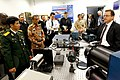 US Navy 101026-N-8863V-615 Nineteen foreign naval attaches toured NSWC Corona, the Navy's newest federal lab.jpg
