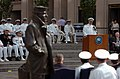 US Navy 110603-N-KV696-188 Chief of Naval Operations (CNO) Adm. Gary Roughead delivers remarks during a wreath laying ceremony at the Navy Memorial.jpg