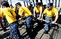 US Navy 110829-N-KB563-288 Chief petty officer selects learn basic seamanship aboard the sailing ship Star of India uring a Naval heritage team-bui.jpg