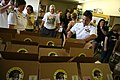 US Navy 110901-N-YM440-162 Rear Adm. Anatolio B. Cruz III visits the Yellow Ribbon Support Center where local Sailors prepared care packages for se.jpg