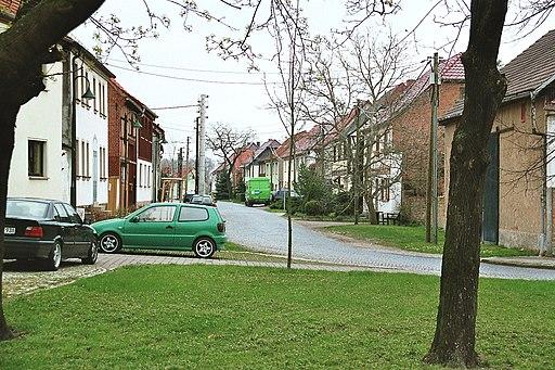 Udestedt, die Goethestraße