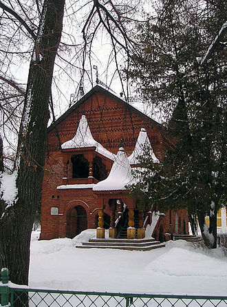 Dmitry of Uglich - Scene of the crime: Dmitry was found dead a few steps from his residence.