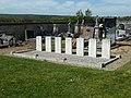 Ugny-sur-Meuse Tombes de Guerre du Commonwealth stèles.jpg