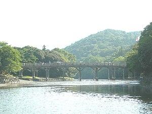 Ise, Mie - Uji Bridge, entrance to the Inner Shrine