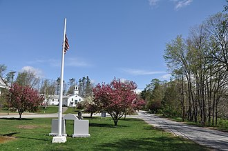 Union, Connecticut - The town green
