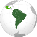 Union of South American Nations with observer states(orthographic projection).svg