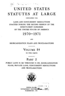 United States Statutes at Large Volume 84 Part 2.djvu