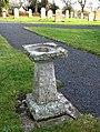 Unusual gravestone in Smailholm Churchyard - geograph.org.uk - 625902.jpg