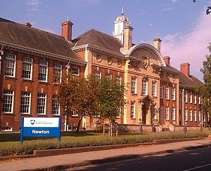 University of Northampton - The Newton Building