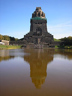 Monument to the Battle of the Nations at Leipzig Volkerschlachtdenkmal Leipzig.JPG
