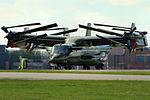 V-22 Presidential Osprey - RAF Mildenhall (26393239652).jpg