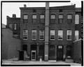 VIEW EAST SHOWING WEST (REAR) ELEVATION - Centennial Block, 57-62 North Main Street, Concord, Merrimack County, NH HABS NH,7-CON,2-3.tif