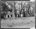 VIEW OF MAIN ELEVATION - Whitehall, Stone Outbuilding, Clay Lane, Richmond, Madison County, KY HABS KY,76-WHAL.1B-1.tif