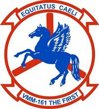VMM-161 - Image: VMM 161 insignia