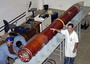 VSB-30 - VSB-30 rocket assembly