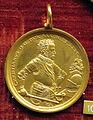 Valentin maler, med. di cristiano I duca di sassonia, 1591, oro.JPG