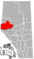 Valleyview, Alberta Location.png