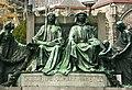 Van Eyck brothers statue in Ghent.jpg