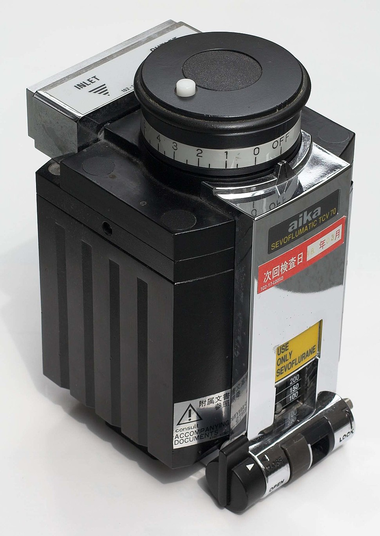 Vaporizer Sevoflurane 001 JPN