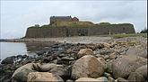 Fil:Varbergs fästning från söder.jpg