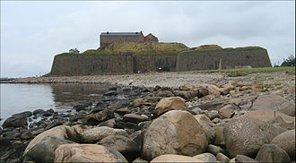 Varberg - View of Varberg Fortress