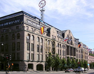 Ferdinand Boberg - Nordiska Kompaniet department store in Stockholm